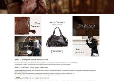 Création de site e-commerce avec Wordpress - Abaco