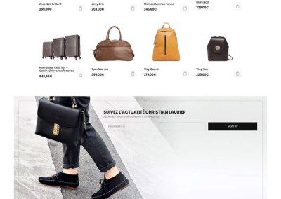 Réalisation de site e-commerce woocommerce - ChristianLaurier