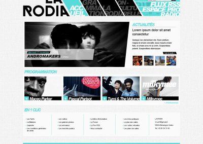 Création de site Internet (Salle de concert)