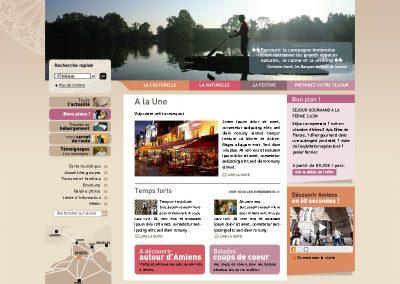 Webdesign et identité graphique (Site institutionnel)