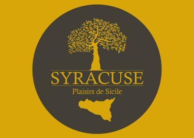 Création de logotype / charte graphique (Syracuse Plaisirs Siciliens - Pizza)